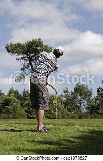 golf player - csp1978827