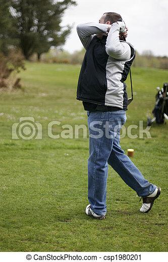 golf player - csp1980201