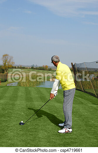 golf player - csp4719661