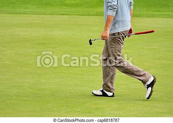 golf player - csp6818787