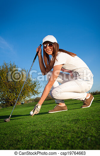 Golf Player - csp19764663