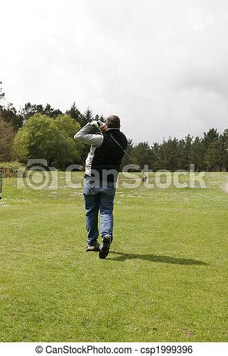 golf player - csp1999396
