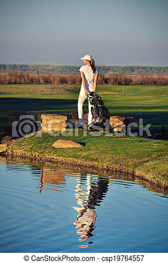 Golf Player - csp19764557