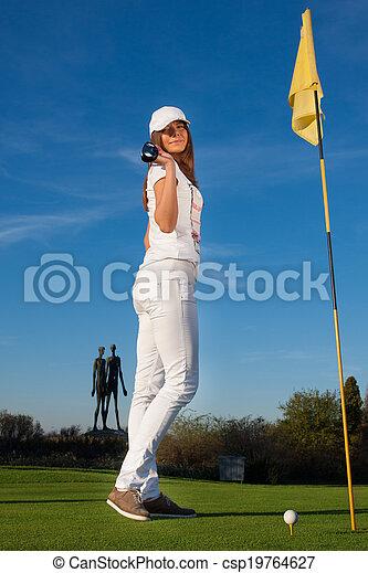 Golf Player - csp19764627