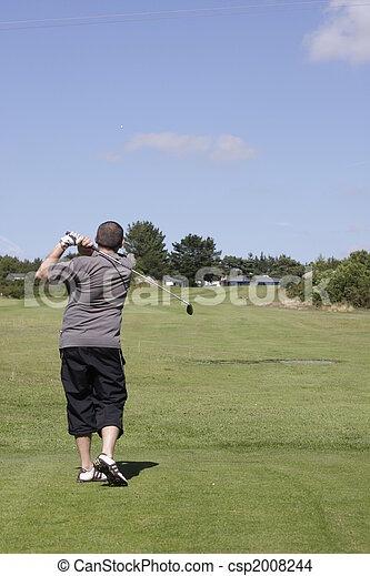golf player - csp2008244
