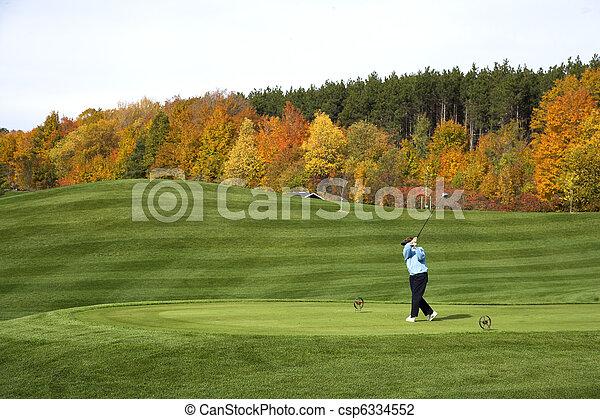 Golf Player - csp6334552