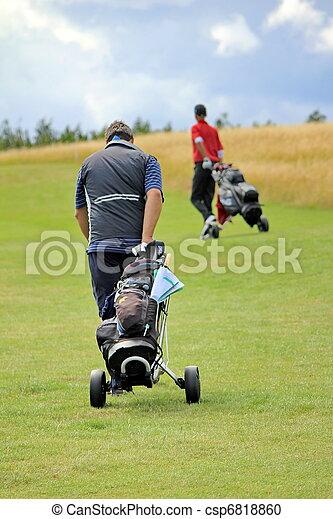 golf player - csp6818860