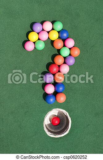 Una pregunta sobre el golf - csp0620252