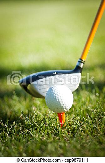Golf - csp9879111