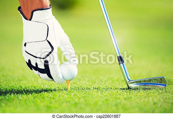 Golf - csp22601887