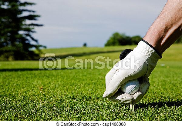Golf Tee  - csp1408008