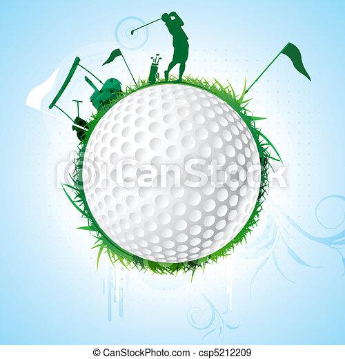 golf - csp5212209
