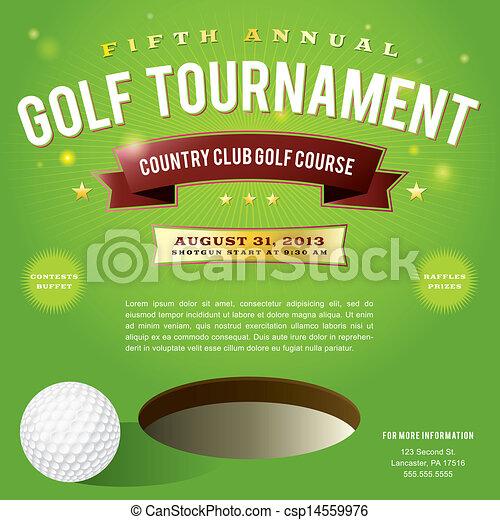 Golf Tournament Invitation Template Doritrcatodos