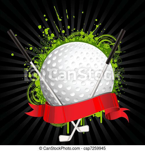 golf, uitrusting - csp7259945