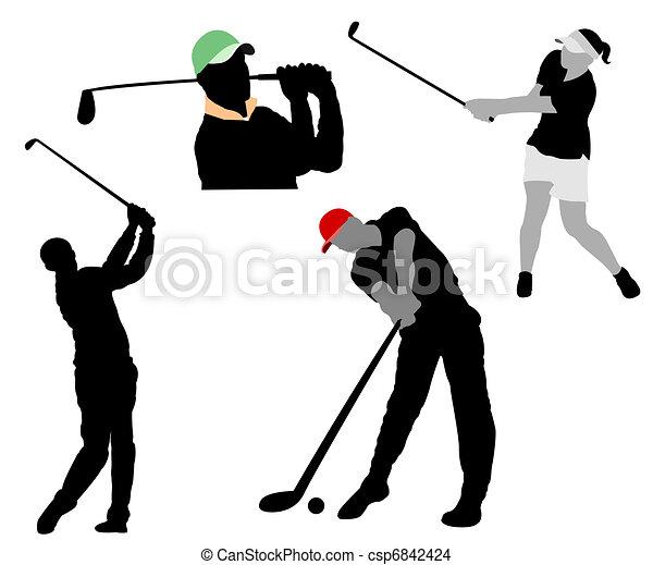 golf - csp6842424