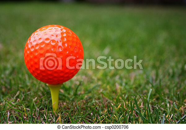 Golfball - csp0200706