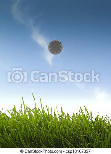 Golfball - csp18167337