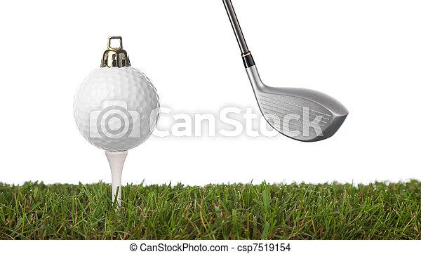 golfe, ornamento - csp7519154