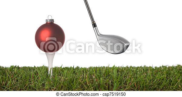 golfe, ornamento - csp7519150