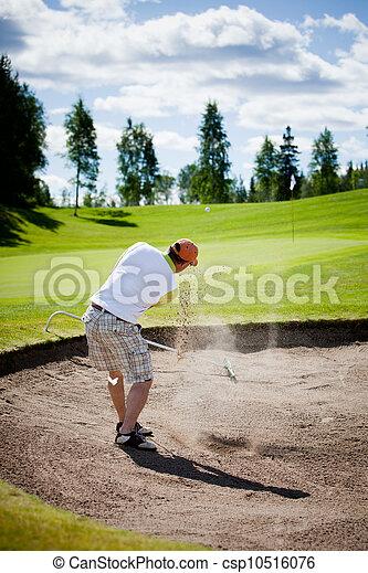 Golfer - csp10516076