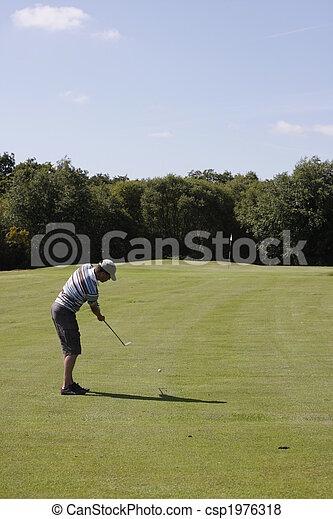 golfer - csp1976318