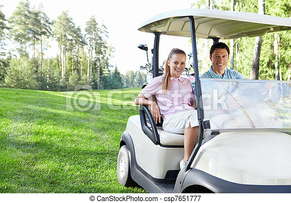 Golfing - csp7651777