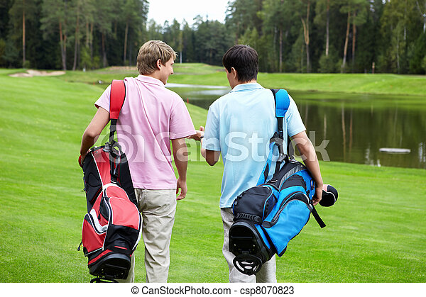 Golfing - csp8070823