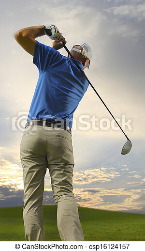 golfista - csp16124157