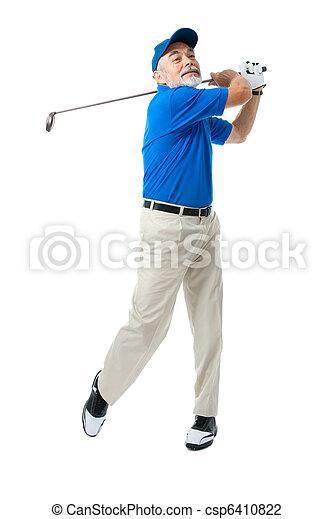 Golfer - csp6410822
