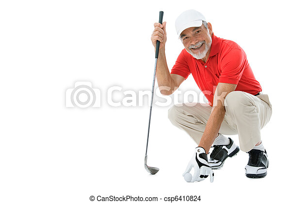 Golfer - csp6410824