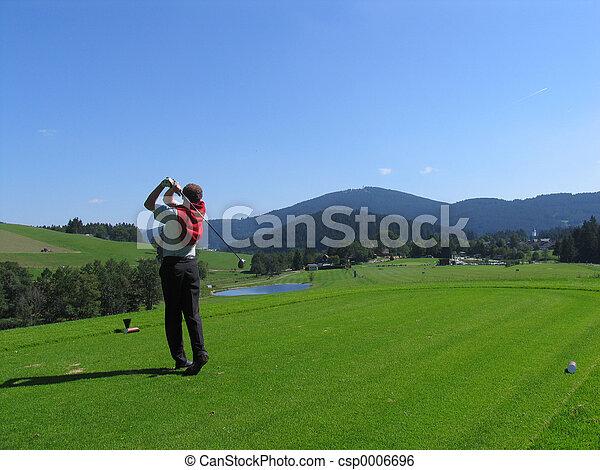 Golfer - csp0006696