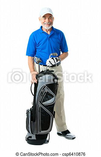 Golfer - csp6410876