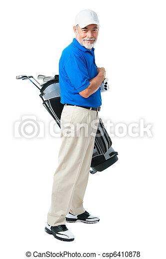 Golfer - csp6410878