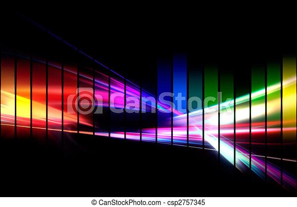 golfvorm, grafisch, audio - csp2757345
