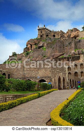 Golkonda fort - csp13010814