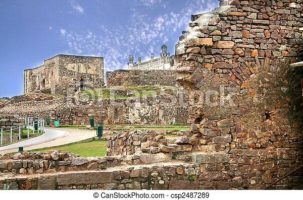 Golkonda Fort - csp2487289