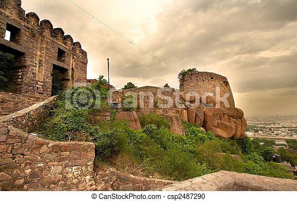 Golkonda Fort - csp2487290