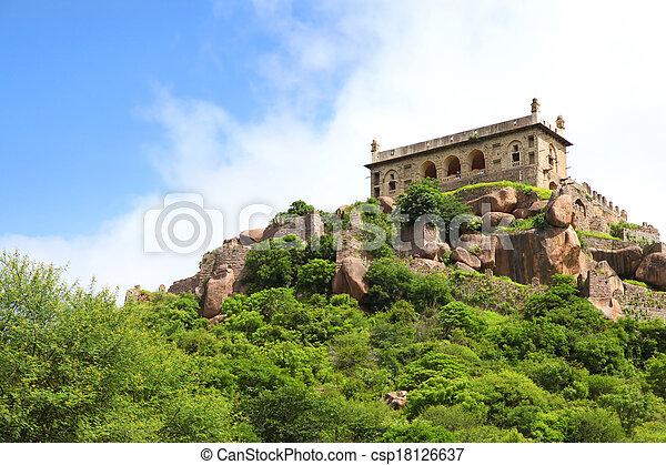 Golkonda fort - csp18126637