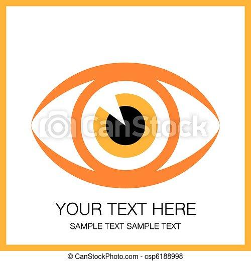 golpear, olho, design. - csp6188998