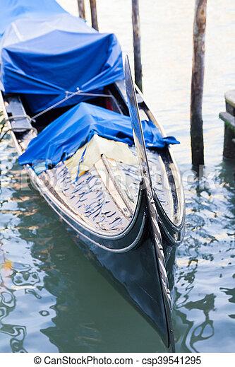 Gondola in Venice, Italy - csp39541295