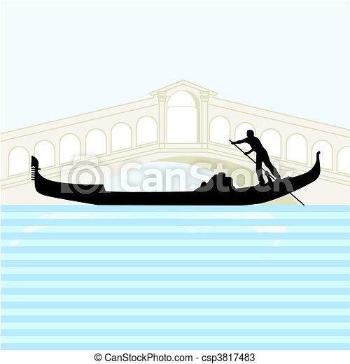 gondola Venice - csp3817483