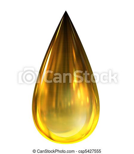gondolkodások, csepp, olaj - csp5427555