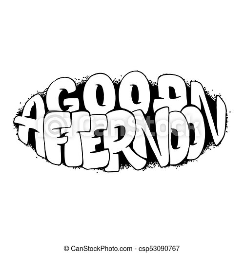 Fall Good Afternoon Clip Art