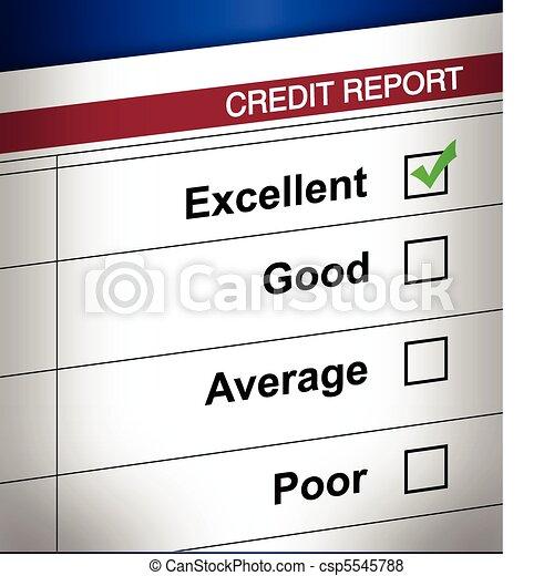 Good Credit - csp5545788
