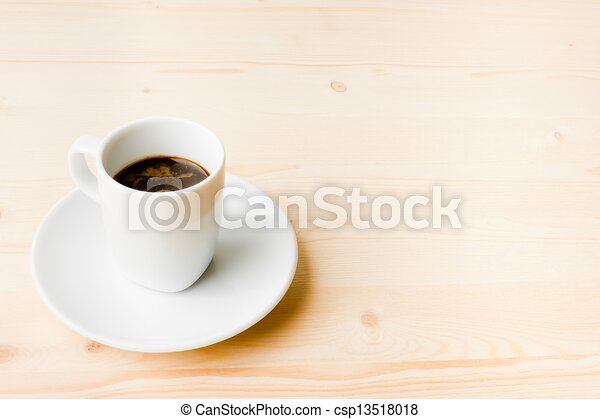 good cup of espresso coffee - csp13518018