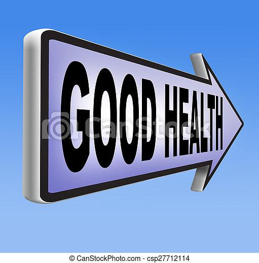Good health - csp27712114
