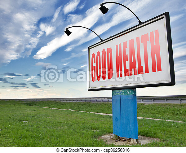 good health - csp36256316
