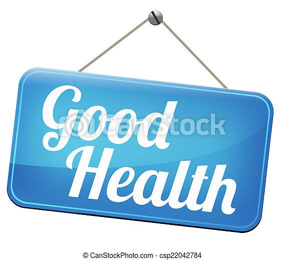 Good health - csp22042784