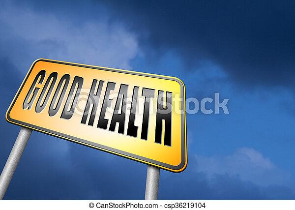 good health - csp36219104