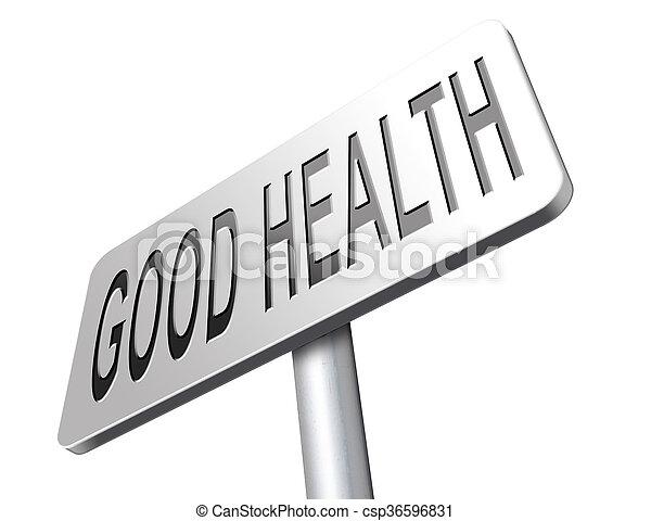 good health - csp36596831